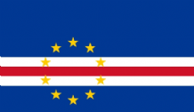 CAPE VERDE - HAND WAVING FLAG (MEDIUM)